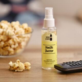 Aromaspray Vanille Butter – Sprüh und Lecker