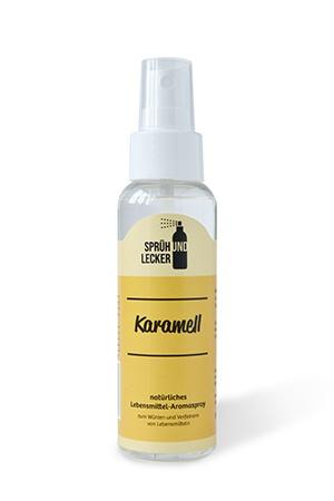 Aromaspray-Karamell-Produkt