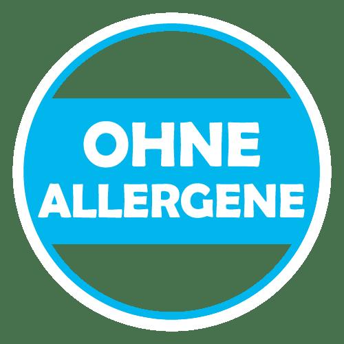 Ohne Allergene